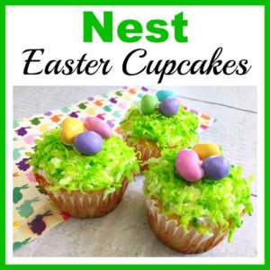 Nest Easter Cupcakes