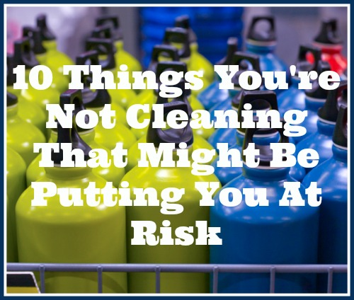 Cleaning your home is actually about much more than just maintaining your home's aesthetic appeal! Cleaning things in your home keeps you safe & healthy! If you're forgetting to clean certain things, you may be putting yourself in a potentially dangerous situation ( to be a bit dramatic)! Here are 10 Things You're Not Cleaning That Might Be Putting You at Risk! | Cleaning tips | deep cleaning | home organization | homemaking
