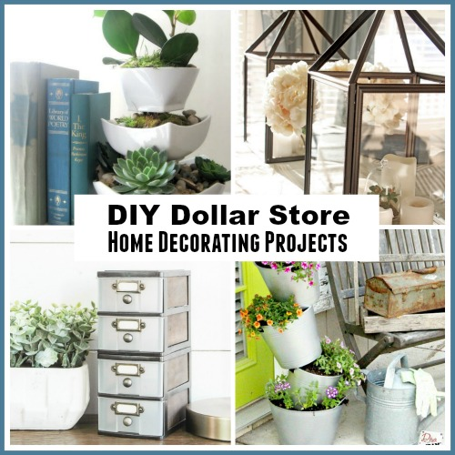 Diy dollar store home decorating projects - Garden decor stores ...
