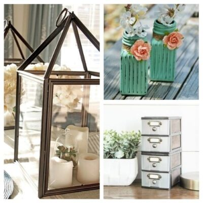 12 DIY Dollar Store Home Decorating Projects