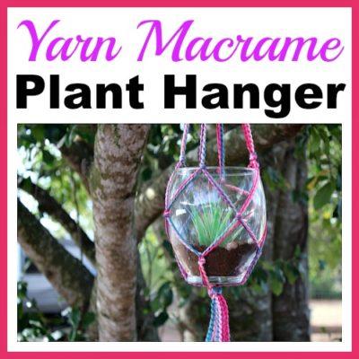 Yarn Macrame Plant Hanger