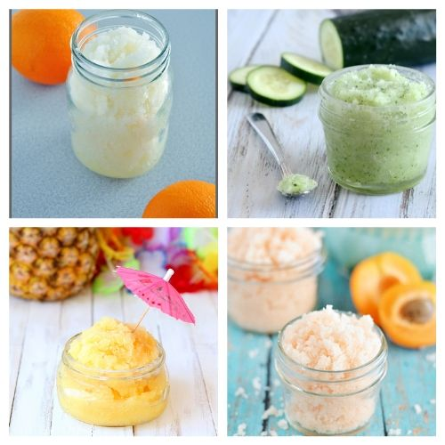 20 Fresh Scented DIY Sugar Scrubs - A great way to relax in the spring and summer is with these luxurious fresh scented DIY sugar scrubs! They're so easy to make! #ACultivatedNest