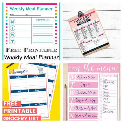 Free Meal Planner Printables- An easy way to get your budget binder set up is with free printable budgeting forms! Here are some great ones to get you started keeping track of your finances! | Living on a budget, frugal living, budget binder, financial printables #waysToSaveMoney #moneySavingTips #budgeting #freePrintables #ACultivatedNest