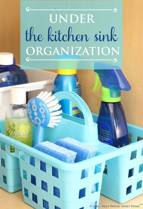 How To Organize Under The Kitchen Sink Fabulous Ideas For Tackling That Hard To Organize