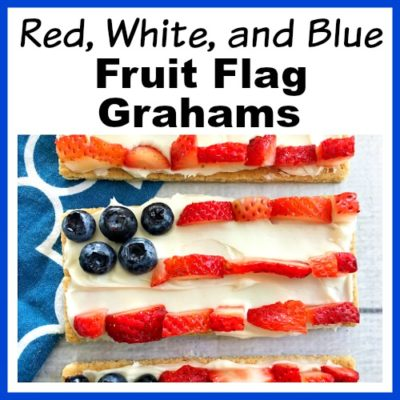 Red, White, and Blue Fruit Flag Grahams