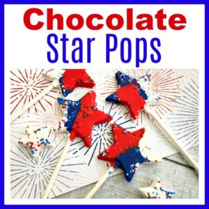 Chocolate Star Pops