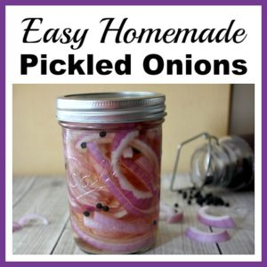 Easy Homemade Pickled Onions