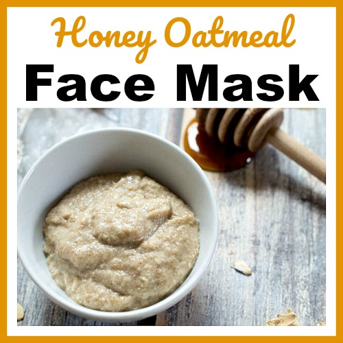 Homemade oatmeal facial mask recipe