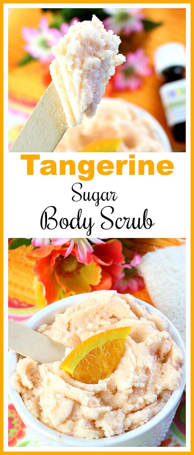 Tangerine Sugar Body Scrub