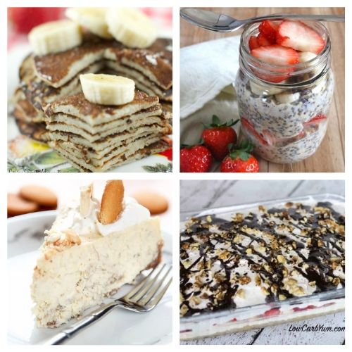 16 Delicious Banana Recipes- Don't throw out your bananas when they get old. Instead, use them in one of these delicious ways to enjoy bananas! There are so many tasty banana desserts! | #recipe #dessertRecipe #dessert #food #ACultivatedNest