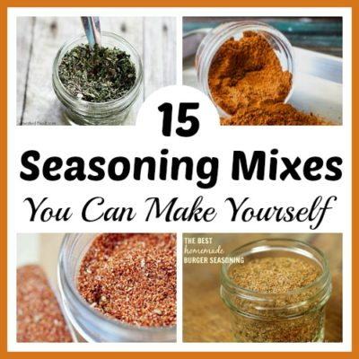 15 Seasoning Mixes You Can Make Yourself