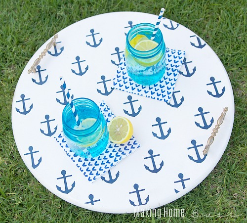 15 DIY Beach Inspired Home Decor Projects so you can add a coastal vibe to your home on a budget! Coastal DIY home decor ideas, DIY projects, nautical home decor, beach cottage, easy crafts