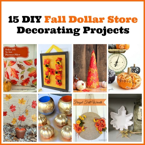 15 diy fall dollar store home decor projects - Fall Home Decor