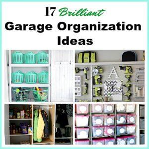 17 Brilliant Garage Organization Ideas