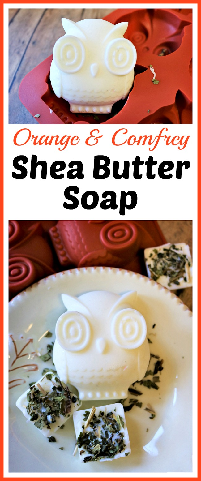 Orange and Comfrey Shea Butter Soap