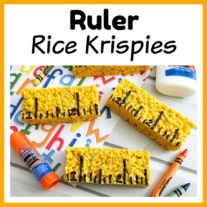 Ruler Rice Krispies