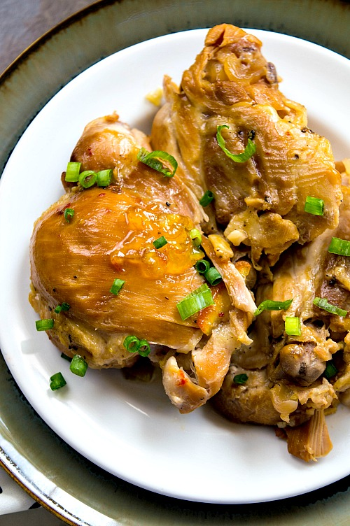 Slow Cooker Orange Chicken Delicious Homemade Chinese Food