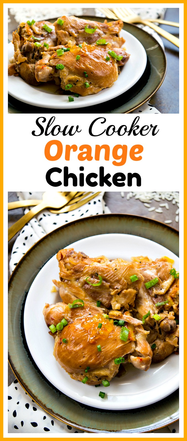 Slow cooker orange chicken delicious homemade chinese food slow cooker orange chicken this slow cooker orange chicken is just as tasty as the forumfinder Images