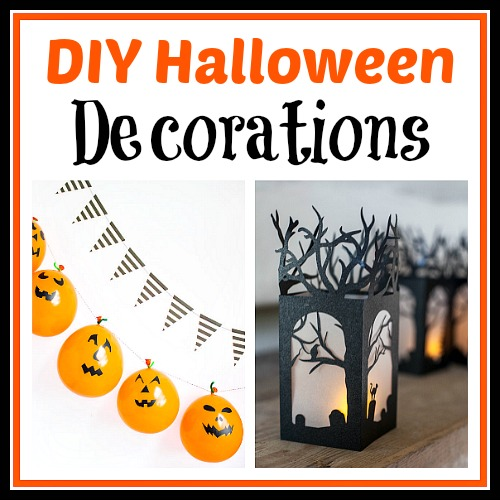 15 frightfully fun diy halloween decorations these diy halloween decorations are light on fright - Fun Halloween Decorations Homemade