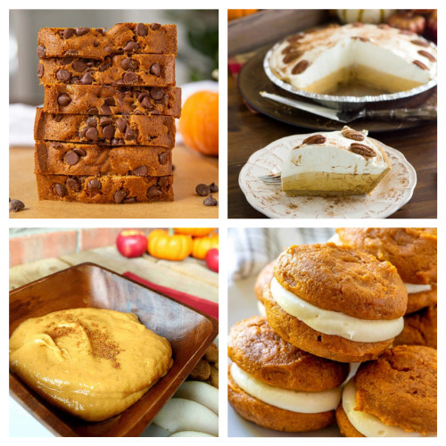 20 Completely Irresistible Pumpkin Fall Desserts- One of the best ways to celebrate fall is with pumpkin! If you want some new and delicious pumpkin recipes to enjoy this autumn, you have to check out these completely irresistible pumpkin desserts! | baking, food, fall recipes, treat, fall desserts, pumpkin bread, pumpkin pie, #fallRecipes #pumpkinPie #pumpkinBread #dessertIdeas #ACultivatedNest