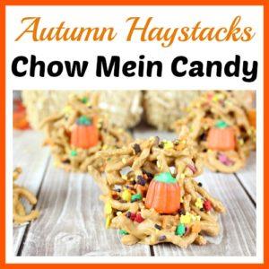 Autumn Haystacks Chow Mein Candy