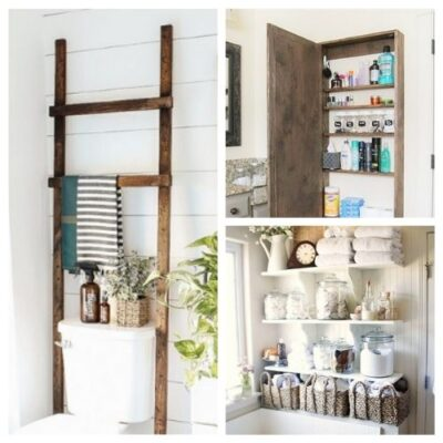 Bathroom Storage Solutions - 12 Clever Ideas You Need To Try