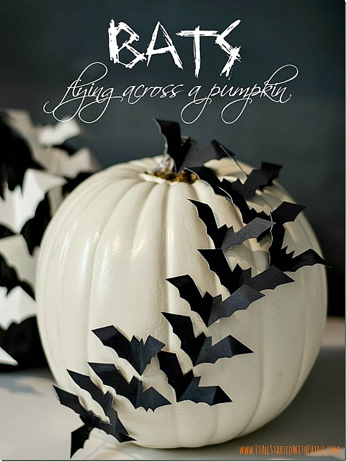 15 frightfully fun diy halloween decorations a cultivated nest - Homemade halloween decorations ...