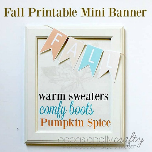 15 Gorgeous Fall Wall Artwork Printables- An easy and inexpensive way to decorate your home for fall is with free printables. Check out these 15 gorgeous fall wall art printables! #ACultivatedNest