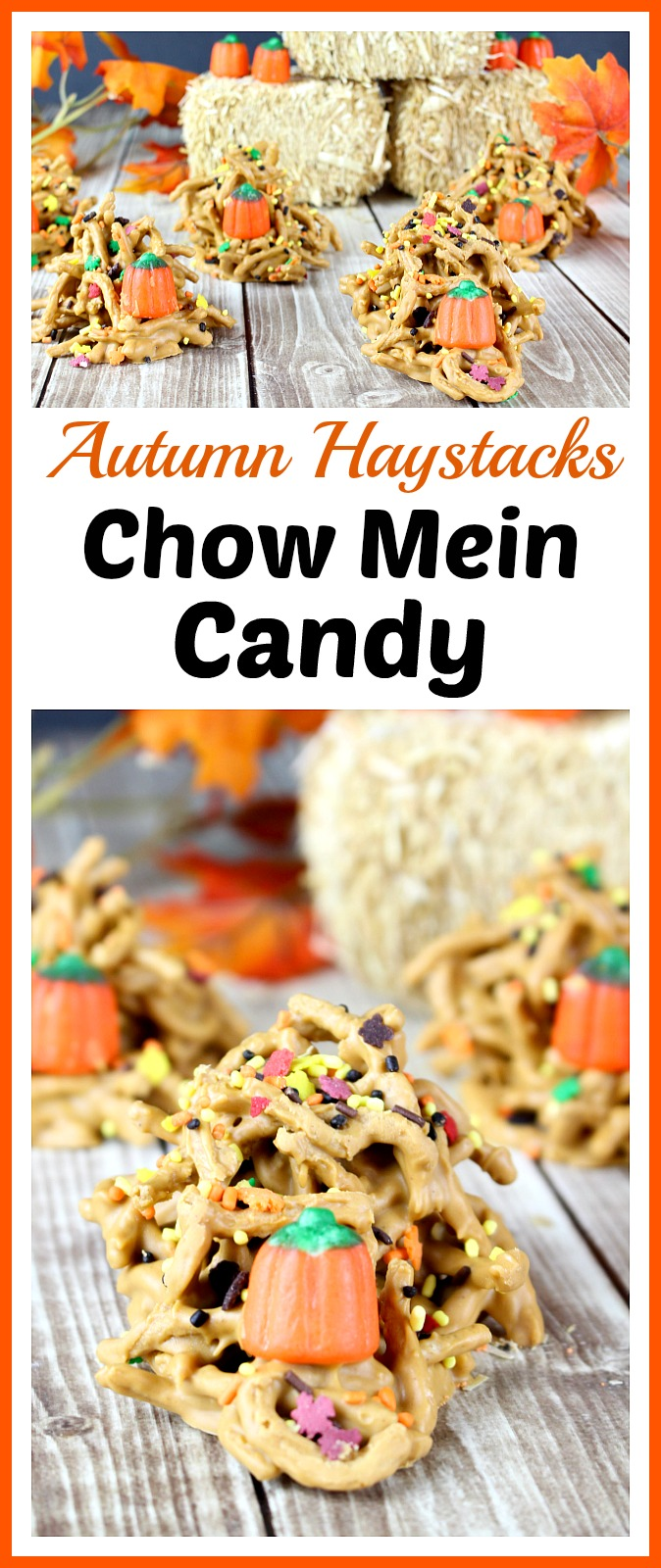 Autumn Haystacks Chow Mein Candy
