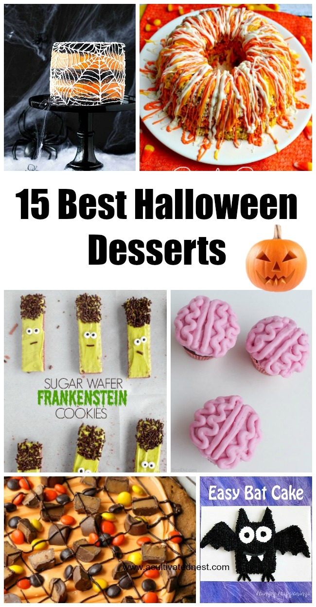 Halloween Dessert Recipes -