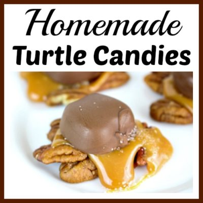 Harvest Homemade Turtle Candies