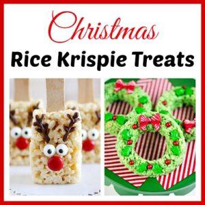 15 Homemade Christmas Rice Krispie Treats