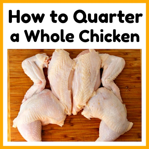 How To Quarter A Whole Chicken And Save Money A Cultivated Nest