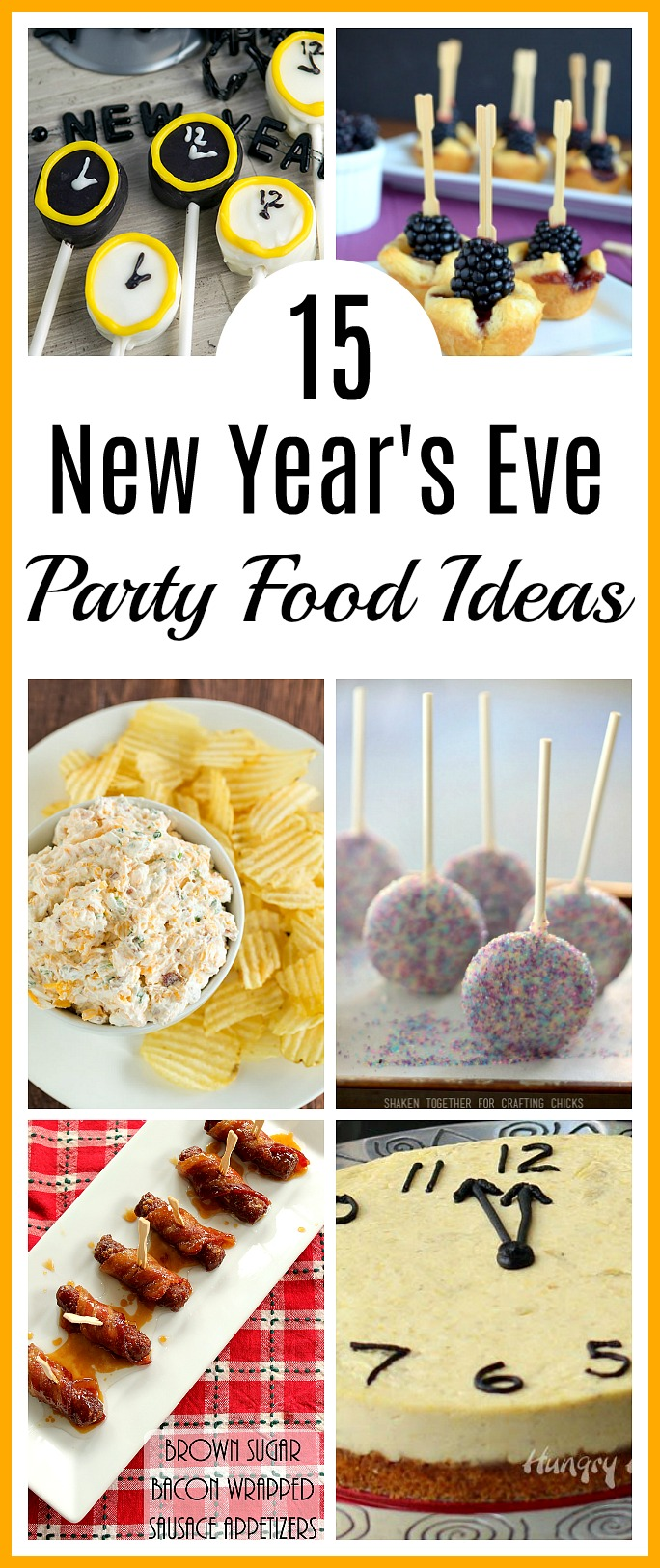 15 New Year's Eve Party Food Ideas