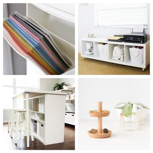 20 Clever IKEA DIY Organization Hacks- If you want to organize your home with IKEA products, but wish there were more styles and colors to choose from, then you need to check out these clever IKEA storage hacks! | diy IKEA organization, #organizingTips #homeOrganization #diyOrganization #organize #ACultivatedNest