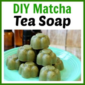 DIY Matcha Tea Soap