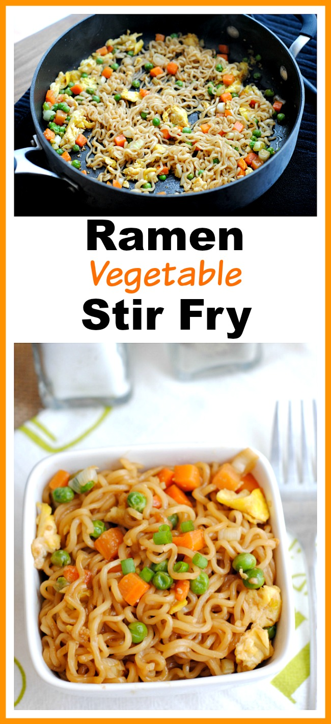 Quick Easy Ramen Vegetable Stir Fry A Cultivated Nest