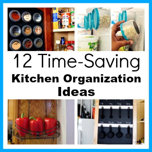 12 time saving kitchen organization ideas if you want to save time in your kitchen - Kitchen Organization Ideas