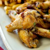 Easy Taco Ranch Wings