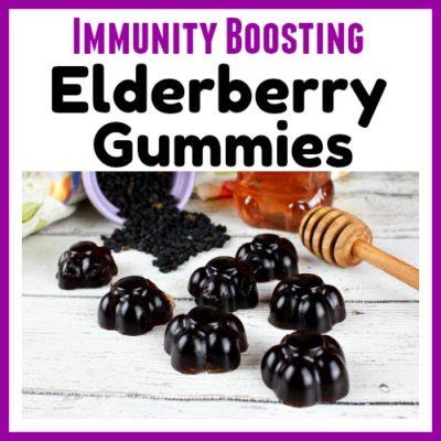 Immunity Boosting Elderberry Gummies
