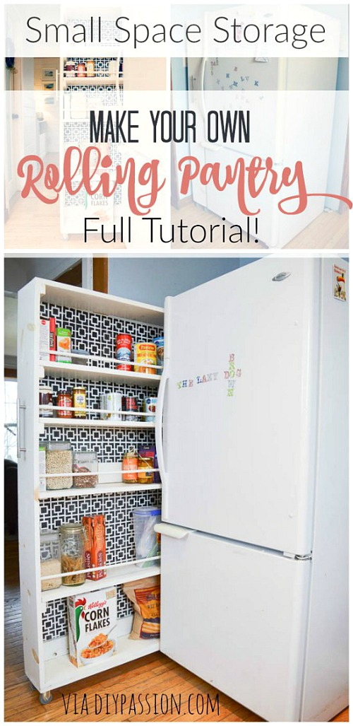 12 Time Saving Kitchen Organization Ideas- If you want to save time in your kitchen, it needs to be organized. Speed up your meal prep with these 12 time-saving kitchen organization ideas! These DIY projects will make it easier to find what you need in your kitchen, and can even give you some extra free space! | organizing, home organization, homemade organizer #organization #diy #organize #kitchen