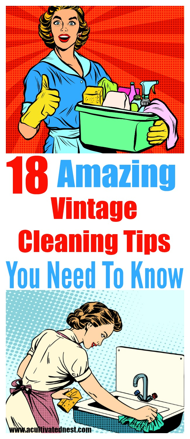 18 Home Cleaning Hacks From Grandma A Cultivated Nest