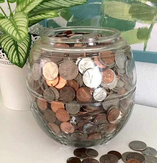 "Why You Need a Coin Jar- Saving Egg Money- If you want to save money the easy way, then you need to use a coin jar! The money you save can be considered ""egg money"" AKA fun money! 