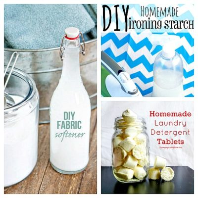10 Frugal DIY Laundry Products