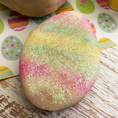 Edible Easter Play Dough