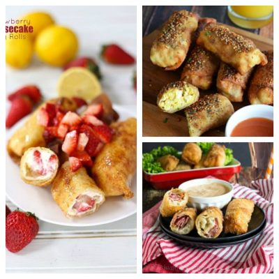 10 Genius Recipes that Use Egg Roll Wrappers