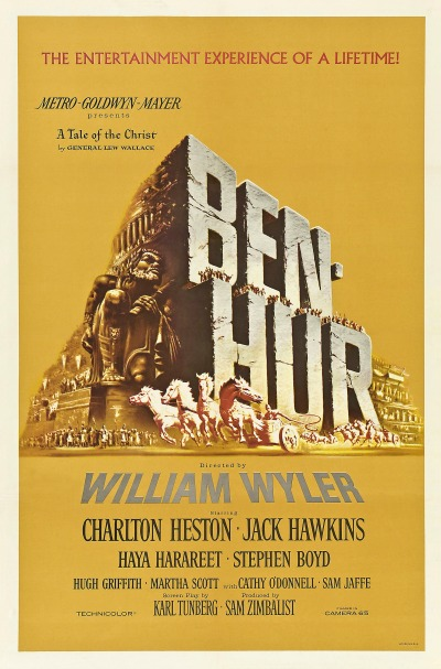 A Housewife's 1950s Movie Watch List- Ben-Hur | classic movies to watch, must-see 1950s movies, grandma's favorite movies, what movies to rent, Amazon Instant Video, #movies #films #watchlist #1950s