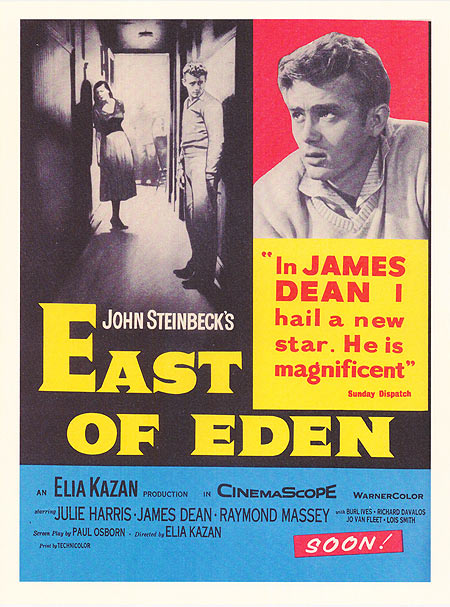 A Housewife's 1950s Movie Watch List- East of Eden | classic movies to watch, must-see 1950s movies, grandma's favorite movies, what movies to rent, Amazon Instant Video, #movies #films #watchlist #1950s