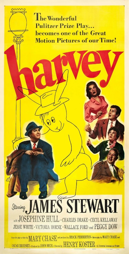 A Housewife's 1950s Movie Watch List- Harvey | classic movies to watch, must-see 1950s movies, grandma's favorite movies, what movies to rent, Amazon Instant Video, #movies #films #watchlist #1950s