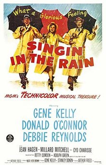 A Housewife's 1950s Movie Watch List- Singin' in the Rain | classic movies to watch, must-see 1950s movies, grandma's favorite movies, what movies to rent, Amazon Instant Video, #movies #films #watchlist #1950s
